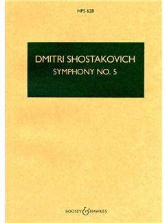 Dmitri Shostakovich: Symphony No.5 Op.47 (Study Score) Books | Orchestra
