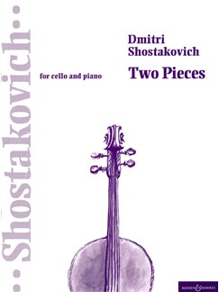 Dmitri Shostakovich: 2 Pieces (Ballet Suite No.2) Books | Cello, Piano Accompaniment