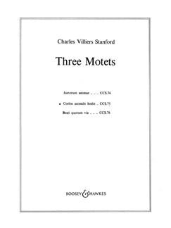 Charles Villiers Stanford: Coelos Ascendit Hodie Books | SATB