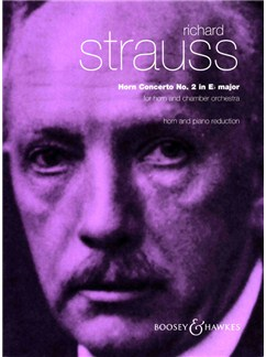 Richard Strauss: Horn Concerto No.2 In E Flat Op.132 (Horn/Piano) Books | Horn, Piano Accompaniment