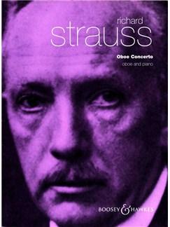 Richard Strauss: Oboe Concerto Books | Oboe, Piano Accompaniment