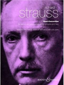 Richard Strauss: Duet Concertino Books | Bassoon, Clarinet, Piano Accompaniment