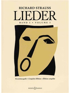 Richard Strauss: Lieder Volume 1 Books | Voice, Piano Accompaniment