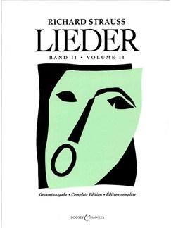 Richard Strauss: Lieder Volume 2 Books | Voice, Piano Accompaniment