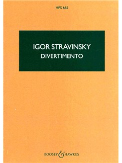 Igor Stravinsky: Divertimento (The Fairy's Kiss) - Study Score Books | Orchestra