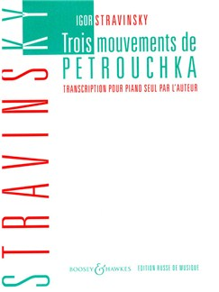 Igor Stravinsky: Trois Mouvements de Petrouchka Books | Piano