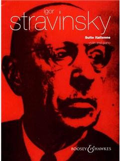 Igor Stravinsky: Suite Italienne (Violin/Piano) Books | Violin, Piano Accompaniment