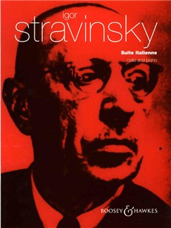 Igor Stravinsky: Suite Italienne Books | Cello, Piano Accompaniment