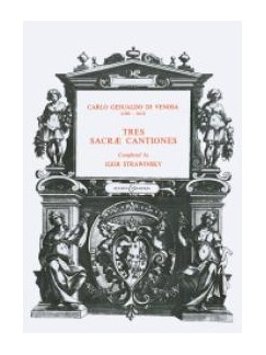 3 Sacres Cantiones Books |