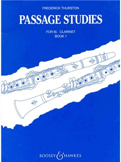 Passage Studies 1 Books | Clarinet
