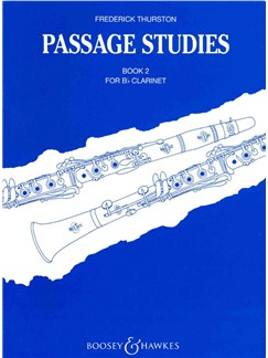 Frederick Thurston: Passage Studies Book Two Books | Clarinet