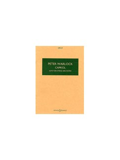Peter Warlock: Capriol Suite For String Orchestra (Study Score) Books | String Orchestra