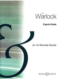 Peter Warlock: Capriol Suite (Recorder Quintet Score) Books   Recorder (Quintet)