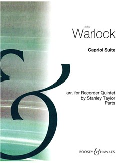 Peter Warlock: Capriol Suite (Recorder Quintet Parts) Books | Recorder (Quintet)