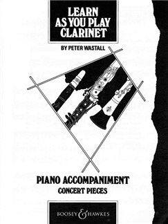 Learn As You Play Clarinet (Piano Accompaniment) Books | Clarinet