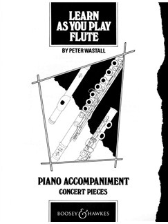 Peter Wastall: Learn As You Play Flute - Concert Pieces (Piano Accompaniment) Books | Flute