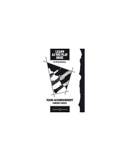 Learn As You Play Oboe (Piano Accompaniment) Books | Piano Accompaniment