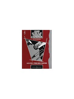 Learn As You Play: Trombone And Euphonuim Books | Trombone, Euphonium