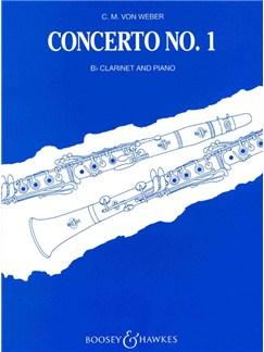 Weber: Clarinet Concerto No.1 In F Minor (Clarinet/Piano) Books | Clarinet, Piano Accompaniment