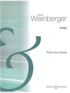 Jaromir Weinberger: Polka (Schwanda The Bagpiper) - Piano Duet Books | Piano Duet