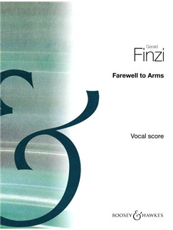 Gerald Finzi: Farewell To Arms (Vocal Score) Books | Voice, Piano Accompaniment