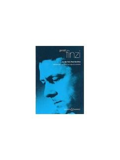 Gerald Finzi: Lo The Full Final Sacrifice Books | SATB, Organ Accompaniment