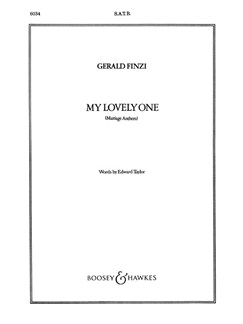 My Lovely One Books | SATB