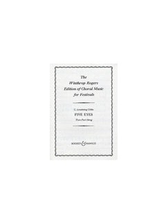 C. Armstrong Gibbs: Five Eyes (2-Part) Books | 2-Part Choir, Piano Accompaniment