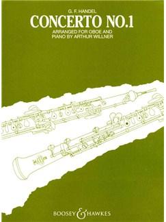 G.F. Handel: Oboe Concerto No.1 In B Flat (Oboe/Piano) Books | Oboe, Piano Accompaniment