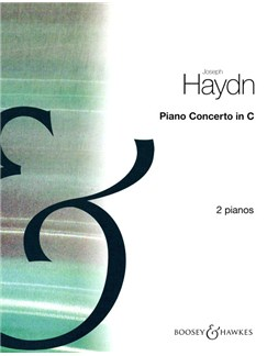 Franz Joseph Haydn: Piano Concerto In C (2 Piano Score) Books | Two Pianos