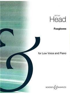 Michael Head: Foxgloves In A Flat Books | Low Voice, Piano Accompaniment