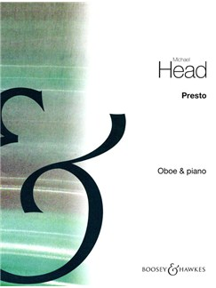 Michael Head: Presto For Oboe Books | Oboe, Piano Accompaniment