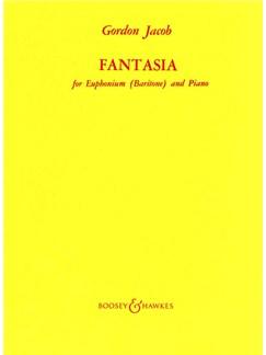 Gordon Jacob: Fantasia Books | Euphonium, Piano Accompaniment
