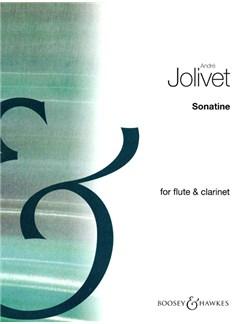 Andre Jolivet: Sonatina For Flute And Clarinet Books | Flute, Clarinet