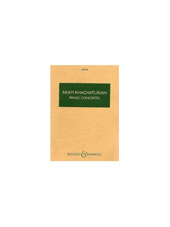 Aram Khachaturian: Piano Concerto Books | Orchestra