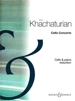 Aram Khachaturian: Cello Concerto Books | Cello, Piano Accompaniment