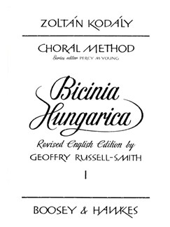 Zoltan Kodaly: Bicinia Hungarica Volume 1 Books | 2-Part Choir