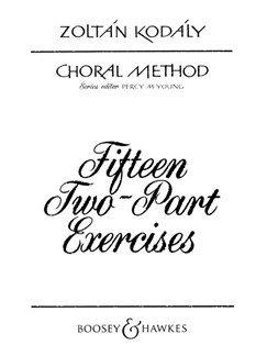 Zoltan Kodaly: 55 Two-Part Exercises Books | 2-Part Choir