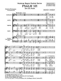 Psalm 121 Books | SATB
