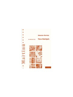 Bohuslav Martinu: Three Madrigals Books | Viola, Violin
