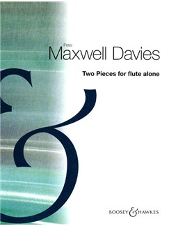 Peter Maxwell Davies: Two Pieces for Flute Alone Books | Flute
