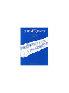 W.A. Mozart: Clarinet Quintet In A K.581 (Clarinet/Piano) Books | Clarinet, Piano Accompaniment