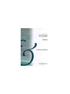 W.A. Mozart: Bassoon Concerto In B Flat (Bassoon/Piano) Books | Bassoon, Piano Accompaniment