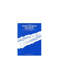 Wolfgang Amadeus Mozart: Four Church Sonatas Books   Clarinet, Piano Accompaniment