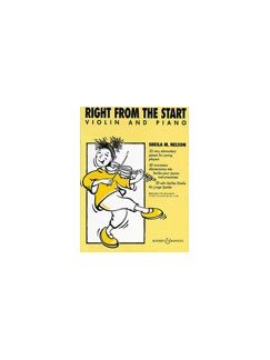 Right From The Start (Violin/Piano) Books | Violin, Piano Accompaniment