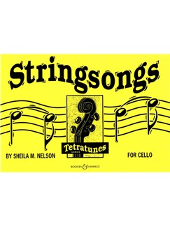 Sheila Nelson: Stringsongs For Cello Books | Cello