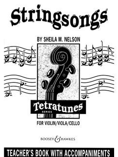 Sheila M. Nelson: Stringsongs (Piano Accompaniment) Books | Piano Accompaniment