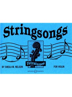 Sheila Nelson: Stringsongs For Violin Books | Violin