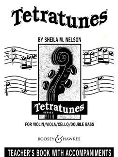 Sheila M. Nelson: Tetratunes - Teacher's Book With Accompaniments Books | Piano Accompaniment