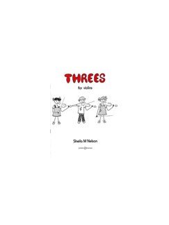 Sheila M. Nelson: Threes For Violin Books | Violin (Trio)
